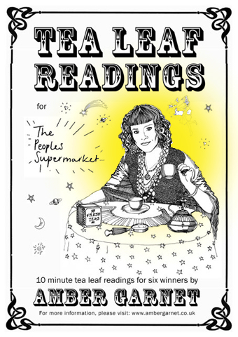 London-Psychic - Tea Leaf Reading at People's Supermarket