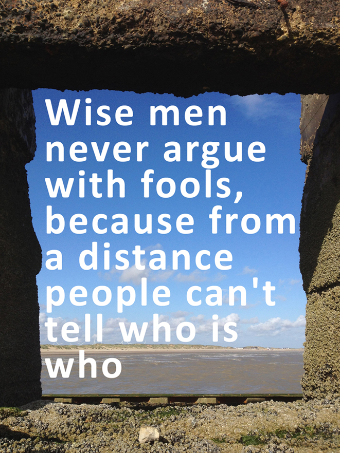 Wise-men-never-argue