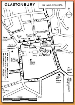 Glastonbury-abbey-map