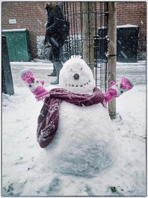 Islington-snowman-200113